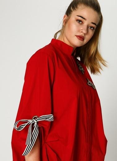 Verda Bluz Kırmızı